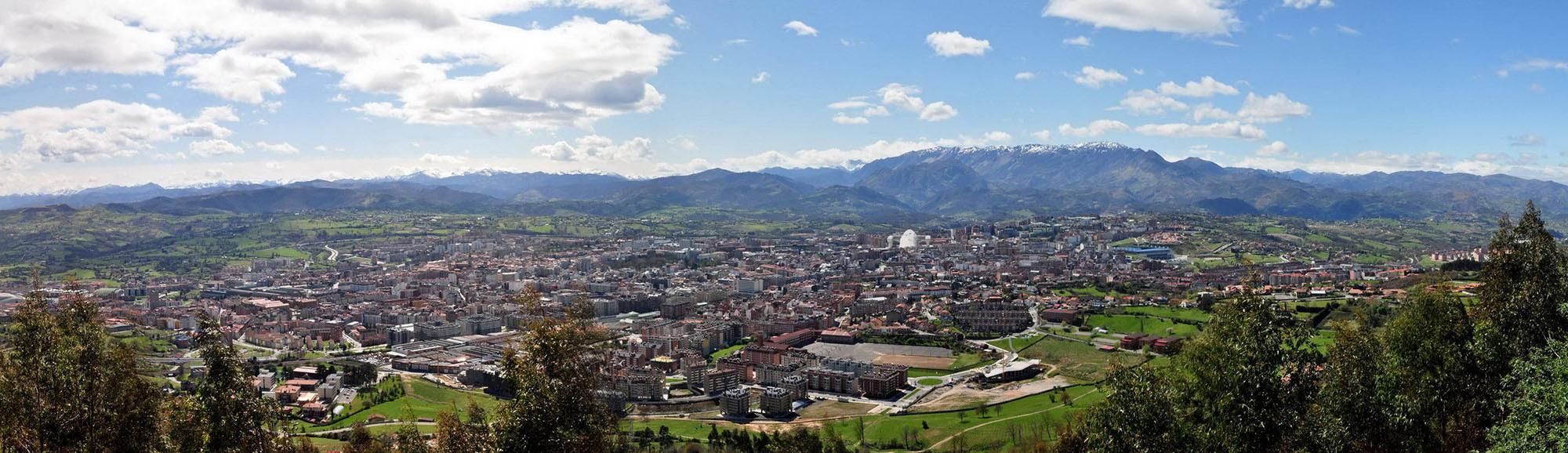 Panorámica Oviedo